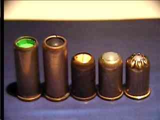 Не-газовые боеприпасы к револьверам семейства МЕ-38 Compact.