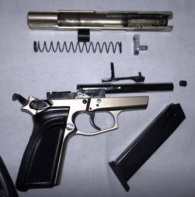 Полная разборка оружия