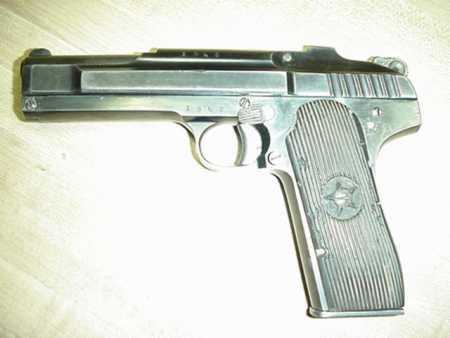Пистолет неизвестного производителя….