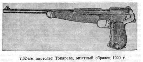 Ранний «Токарев» с представленной в начале статьи моделью ничего общего не имеет.